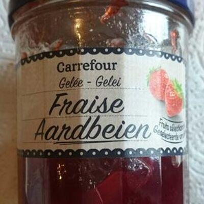 Gelée fraise (Carrefour)