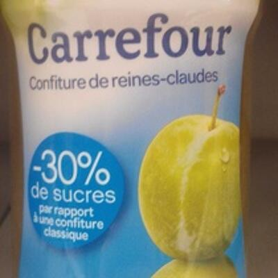 Confiture de reines-claudes -30 % de sucres (Carrefour)