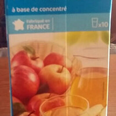 Nectar pomme (Carrefour)