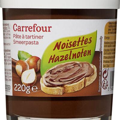 Pâte à tartiner (Carrefour)