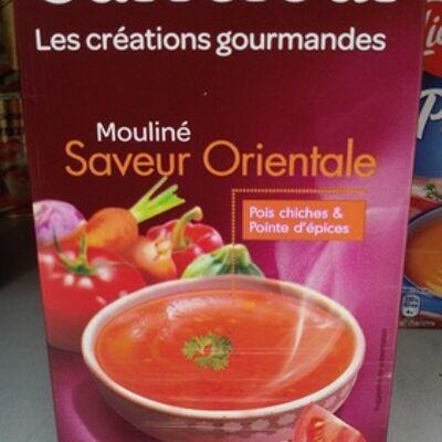 Les créations gourmandes mouliné saveur orientale pois chiches & pointe d'épices (Carrefour)