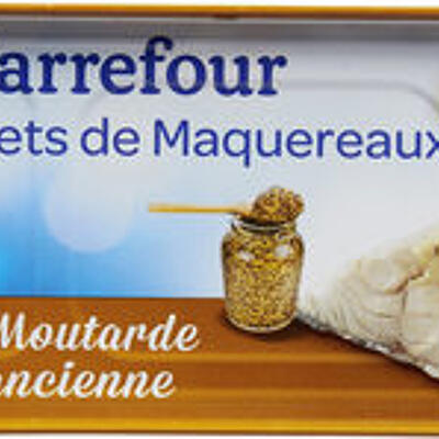 Filets de maquereaux (Carrefour)