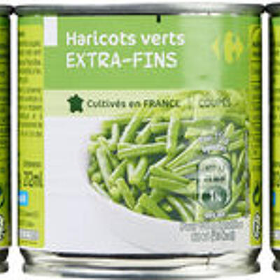 Haricots verts extra-fins (Carrefour)