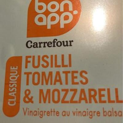 Fusilli tomates et mozzarella (Bon app')