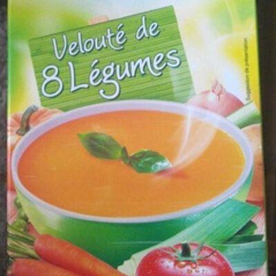Velouté aux 8 légumes (Carrefour)