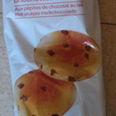 Briochettes aux pépites de chocolat (Carrefour)