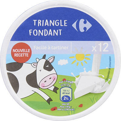 Triangle fondant (Carrefour kids)
