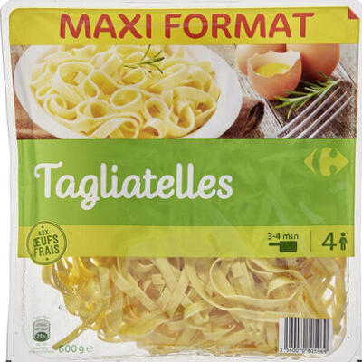 Tagliatelles friaches (Carrefour)