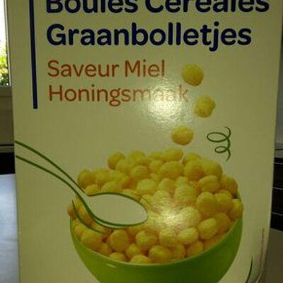 Boules céréales saveur miel (Produits blancs)