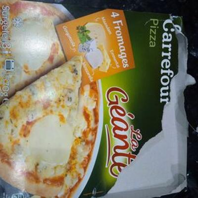 Pizza 4 fromages (Carrefour)