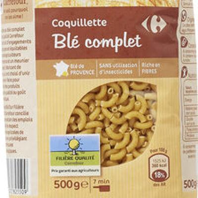 Coquillette blé complet (Carrefour)