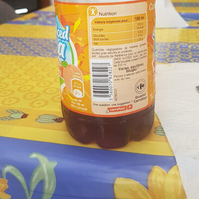 Iced tea (Carrefour)