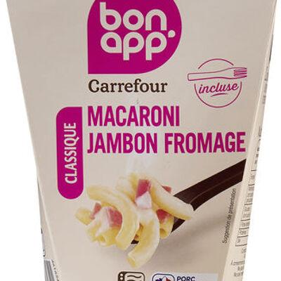 Macaroni jambon fromages (Carrefour)