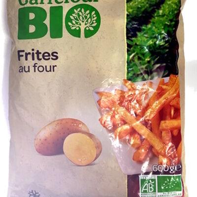 Frites au four (Carrefour bio)