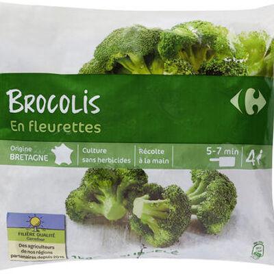 Brocolis en fleurettes (Carrefour)