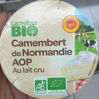 Camembert de normandie aop (Carrefour bio)