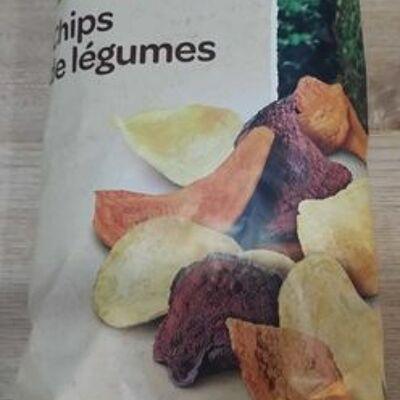 Chips de légumes (Carrefour bio)