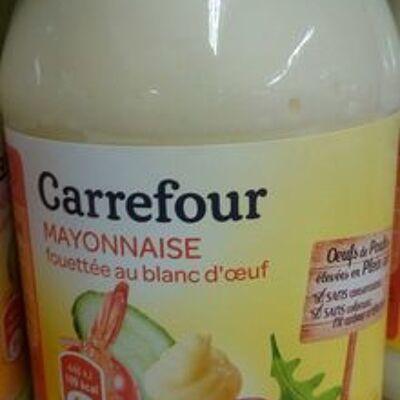 Mayonnaise fouettée au blanc d'œuf (Carrefour)