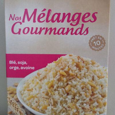 Nos mélanges gourmands (blé, soja, orge, avoine) (Carrefour)