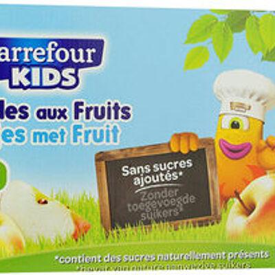 Sans sucres ajoutés* *contient des sucres naturellement présents (Carrefour kids)