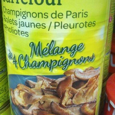 Mélange de 4 champignons (Carrefour)