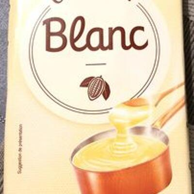 Chocolat dessert blanc (Carrefour)