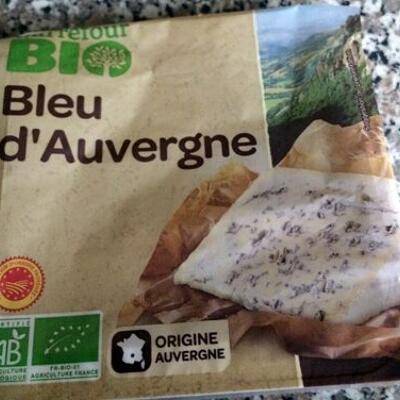 Fromage bio bleu d'auvergne bio (Carrefour bio)
