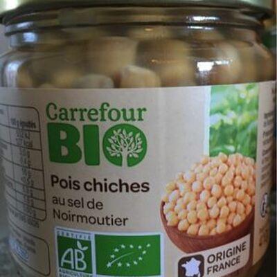 Pois chiches au sel de noirmoutier (Carrefour bio)