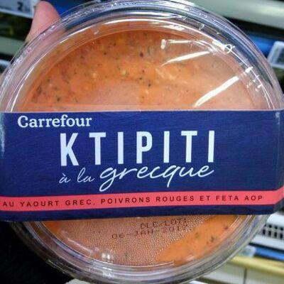 Ktipiti à la grecque (Carrefour)