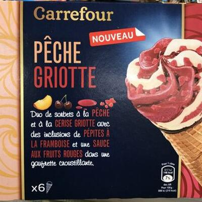 Pêche griotte (Carrefour)