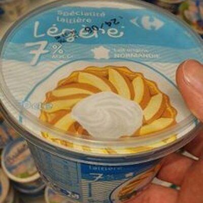 Spécialité laitière légère (Carrefour)