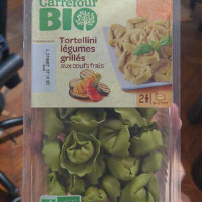 Tortellini légumes grillés (Carrefour bio)