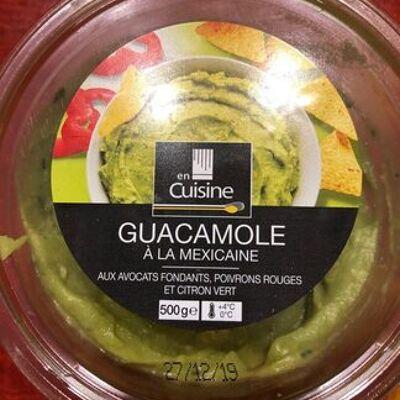 Guacamole à la mexicaine (En cuisine)