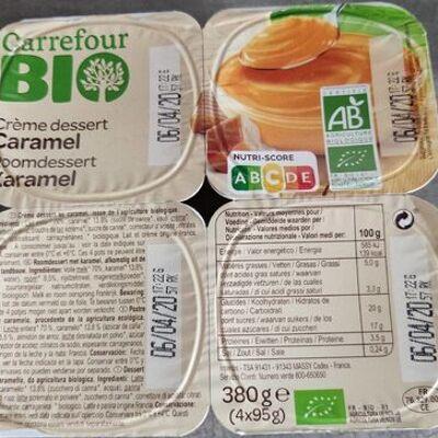 Crème dessert caramel (Carrefour bio)