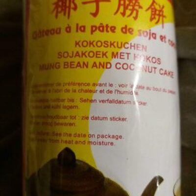Gâteau à la pâte de soja et coco (Asie d'ivry)