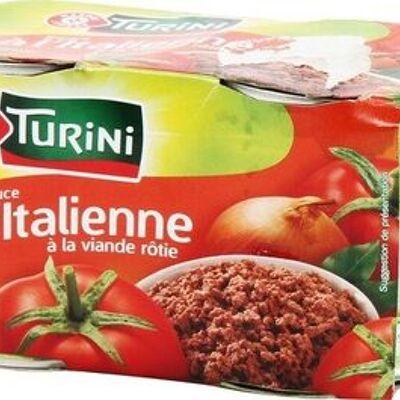 Sauce tomate italienne à la viande x 2 (Turini)