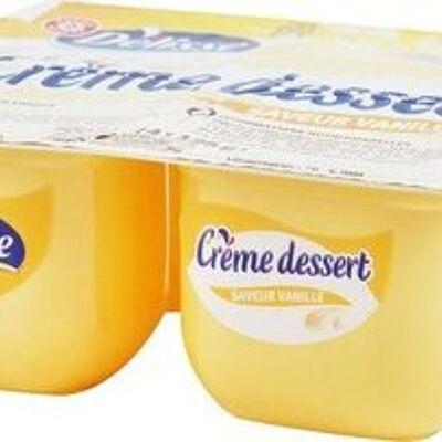 Crème dessert à la vanille (Délisse)