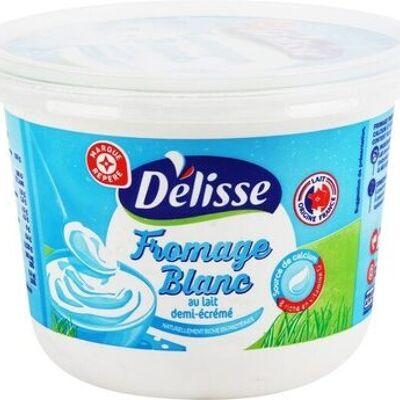 Fromage frais 3 % mat. gr. 'délidoux' (Délisse)