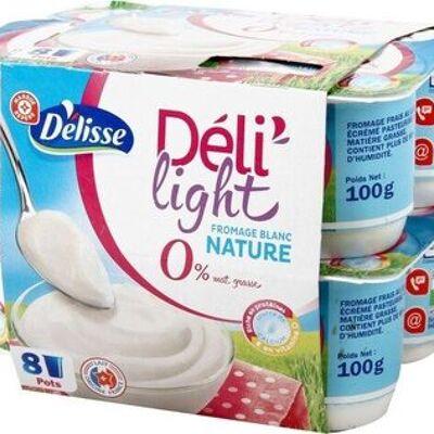 Fromage frais 0 % mat. gr. 'délidoux' (Délisse)