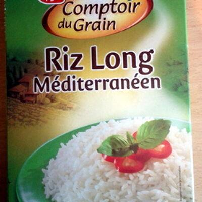 Riz long blanchi méditerraneen (Comptoir du grain)