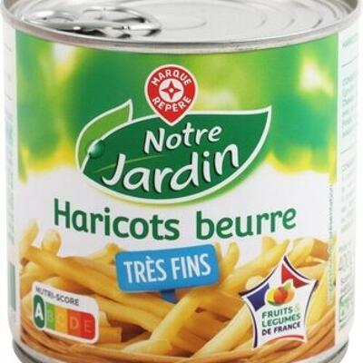 Haricots beurre très fins (Notre jardin)