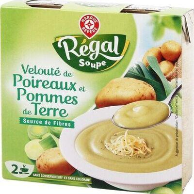 Velouté poireaux pomme de terre (Régal soupe)