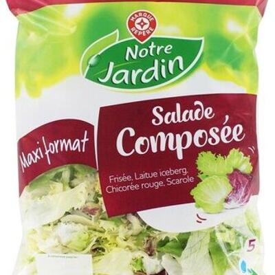 Salade composée (Notre jardin)