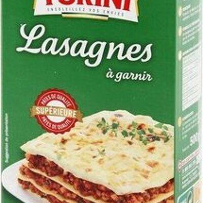 Lasagne boite carton (Turini)