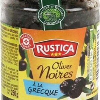 Olives noires à la grecque entières (Rustica)