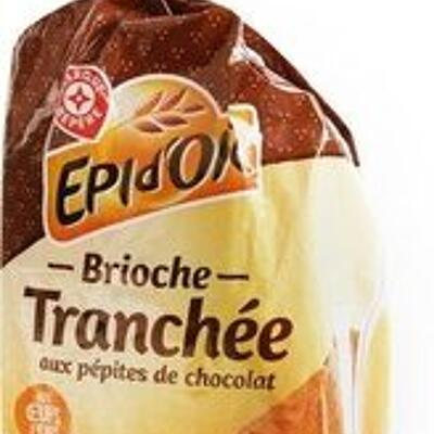 Brioche tranchée aux pépites de chocolat (épi d'or)