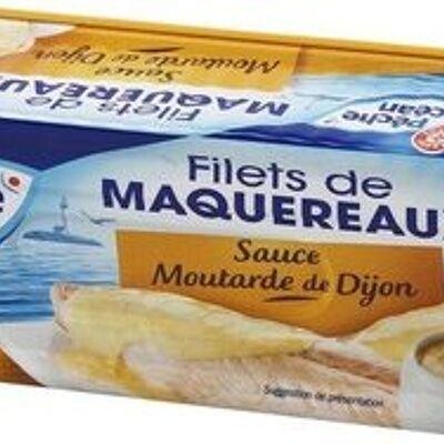 Filets de maquereaux moutarde de dijon (Pêche océan)