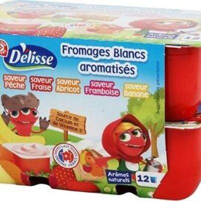 Fromages frais aux fruits petits delis (Délisse)