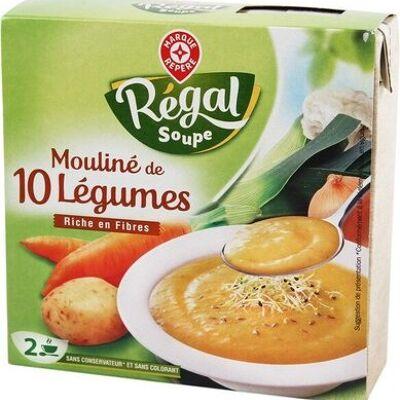 Mouliné de légumes variés (Régal soupe)