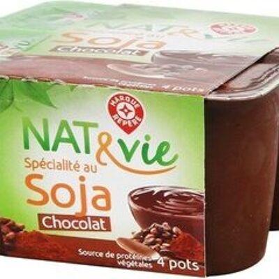 Spécialité au soja chocolat (Délisse)